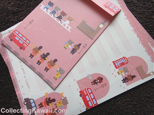 Travel Bears Letter Set 4