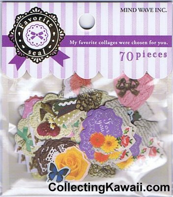 Favourite Collages Sticker Sack
