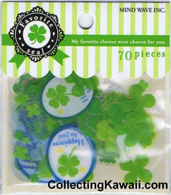 Favourite Clovers Sticker Sack