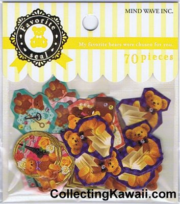Favourite Bears Sticker Sack