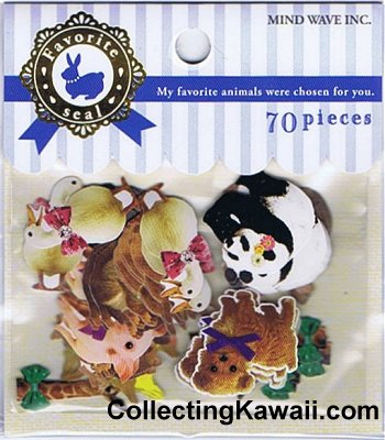Favourite Animals Sticker Sack